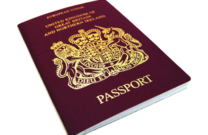 UK Passport Image